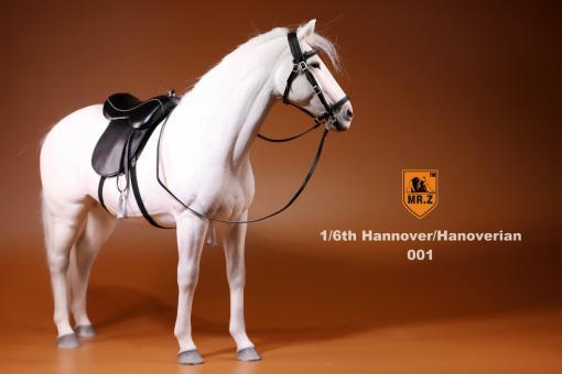 Pferd - Hannoveraner - Weiss im Maßstab 1:6