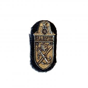 Narvik Schild in Metal mit Stoff 1/6