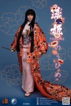 Female Japanese Nohime Set (Orange)