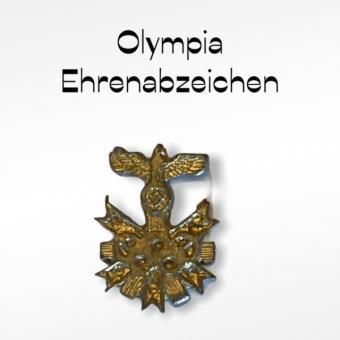 Olympia Ehrenabzeichen 1/6 in Metal