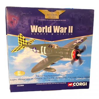 """1/72 P-47D Thunderbolt """"11"""" Capt. Herschell H Green Ltd Ed"""