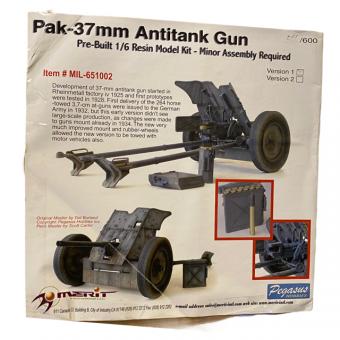 Pak 36 37mm  limited Edition 1/6 (nr566)