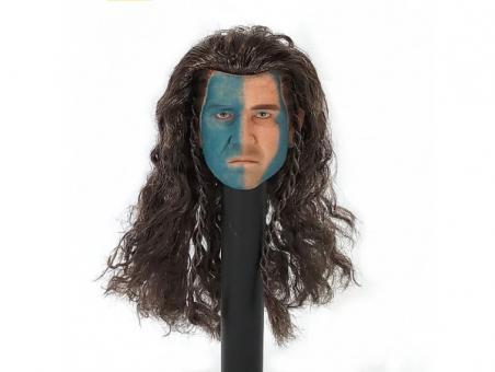William - Scottish Highlands - War Paint Head