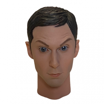 Male Head Sculpture with Expression 1/6