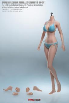 Phicen Body Anime - grosse Oberweite - Hautfarbe Pale