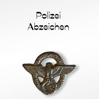 Polizei Ärmelabzeichen 1/6 in Metal