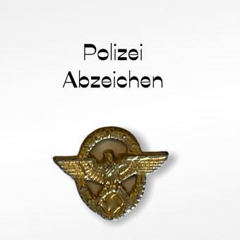 Polizei Ärmelabzeichen 1/6 in Metal Gold