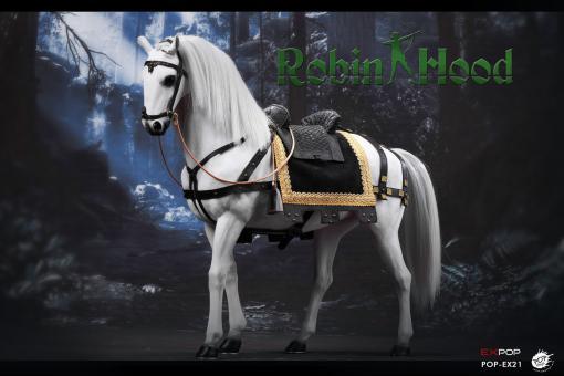 Robin Hood War horse 1/6