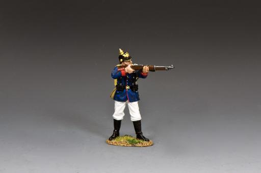 Preußischer Infanterist - feuernd