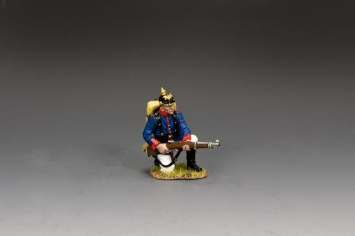Preußischer Infanterist - kniend bereit