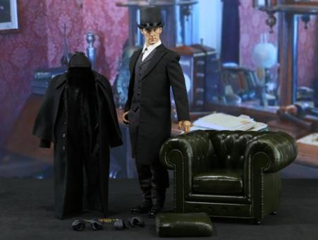 Sherlock - British Detective in Victorian Outfit - im Maßstab 1:6 (ca. 30cm Figur)