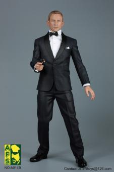 Royal Agent Suit Set (Black) 1/6