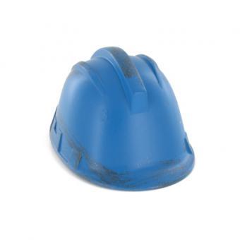 Bauarbeiter Helm blau 1/6
