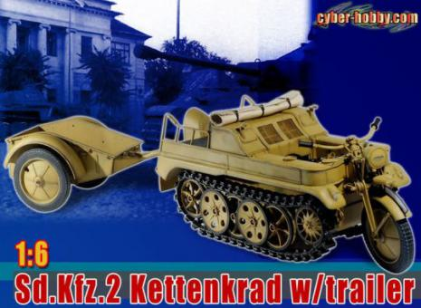 Sd.Kfz.2 Kettenkrad With Trailer (Sand)