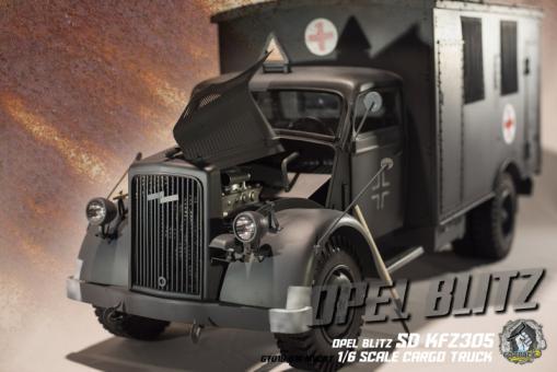 Sd.Kfz.305 Opel Blitz Truck Ambulance Version