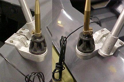 SDKFZ 250 Antennen Halterung Metal  1/6