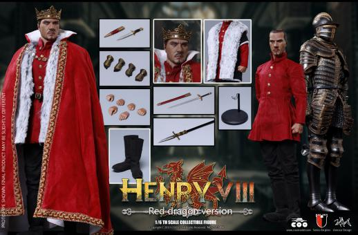 1/6 - HENRY VIII HENRY VIII (RED DRAGON VERSION)
