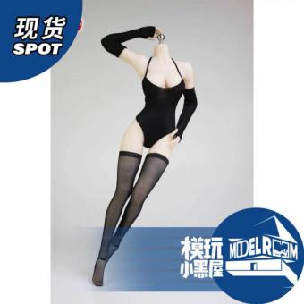 Female Sexy Clothes Set (Black) - in 1/6 scale