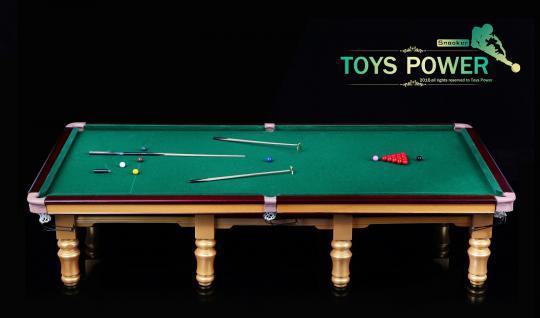 Snooker Tisch 1/6