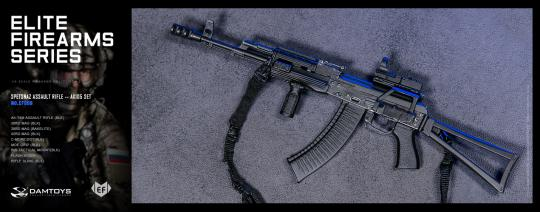 SPETSNAZ ASSAULT RIFLE AK74M /6