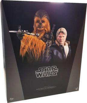 1/6th scale Han Solo & Chewbacca Collectible Figures Set