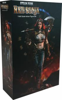 Steam Punk Red Sonja (Deluxe Version) 1/6th Action Figure