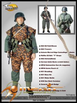 Elite Uniform mit MP44 Set Accessory Set 1/6