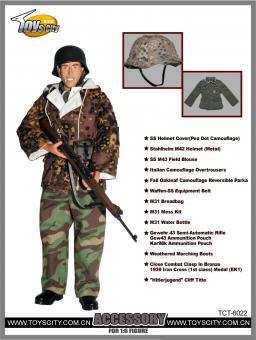 Elite Uniform mit G43 Set Accessory Set 1/6