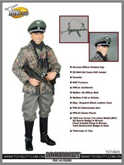 Elite Uniform mit PPS-43 Set Accessory Set 1/6