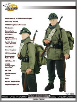 Gebirgsjäger Schütze Uniform Set 1/6