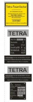 1:6 Tetra Feuerlöscher Decal set