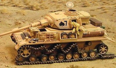 1:30 The Collectors Showcase Afrika Korps Cs00435 German Pzkfw Iv Tank Mib