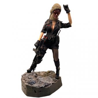 The Dead World Female Zombie 1/6th scale action figure