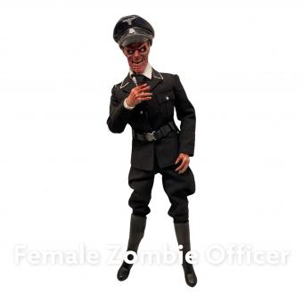 The Dead World Female Zombie Elite Officer1/6th scale action figure