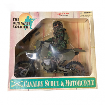1/6 THE ULTIMATE SOLDIER 1/6 CAVALRY SCOUT AND MOTORCYCLE - RARE