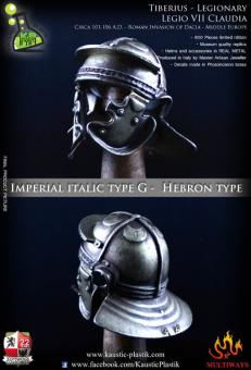 Helmet - Imperial Italic type G with Magnetic Plug (Hebron Type)