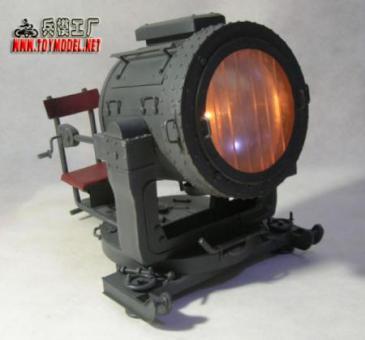FLAK-SW-36 beleuchtet in Metal