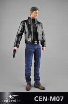 1/6 Model Spy's Leather Clothing Suit