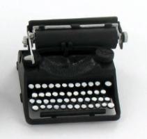 Typewriter, Schreibmaschiene Kuntstoff