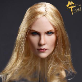 1/6 Charlotte Female Head Ultra Realistic
