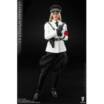 1/6 Female SS Officer (White Version)