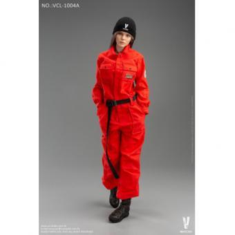 Female Work Wear Set (Red) 1/6
