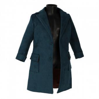 Velvet Coat (Blue) 1/6 de Luxe