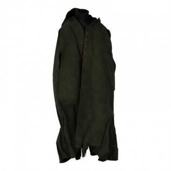 Velvet Medieval cape mit Kaputze (Olive Drab) 1/6