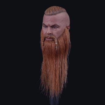 1/6  Viking Kopf WARLORD