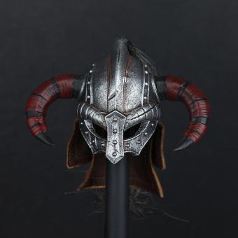 Metal Viking Brillenhelm Larp Helm in Metal 1/6