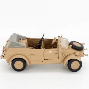 """VW Typ 82 Deutsche Wehrmacht Kübelwagen """"Afrika Korps""""  1:24"""