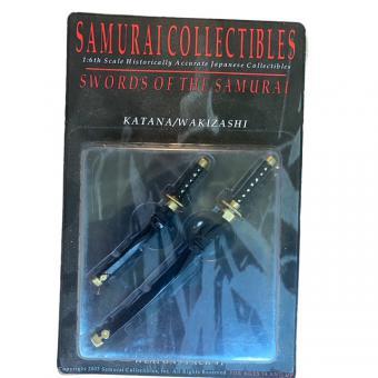 Samurai Collectibles die-cast sword pack