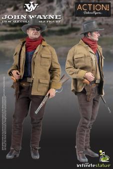 Kaustic Plastik John Wayne Official 1/6 Figure (Exclusive ver)