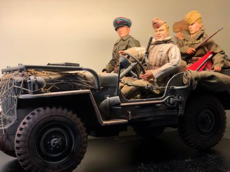 Willys Jeep 4x4 1/4 Russian Invasion